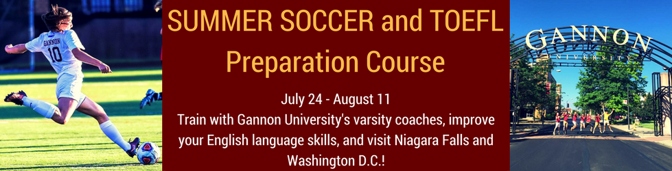 SUMMER SOCCER and TOEFLPreparation Course